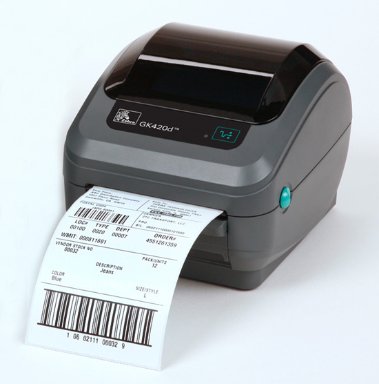 Zebra GK Series label printers