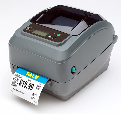 Zebra GX series label printers