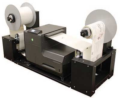 Neuralabel ink jet label printer