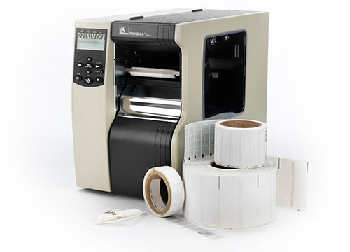 Zebra RFID label printer encoders