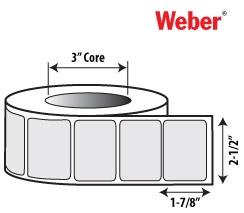 2 1 2 x 1 7 8 thermal transfer labels for zebra datamax and sato