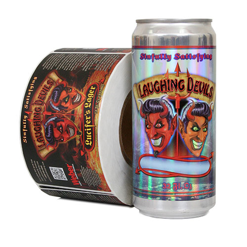 Crowler Craft Beer Can Labels