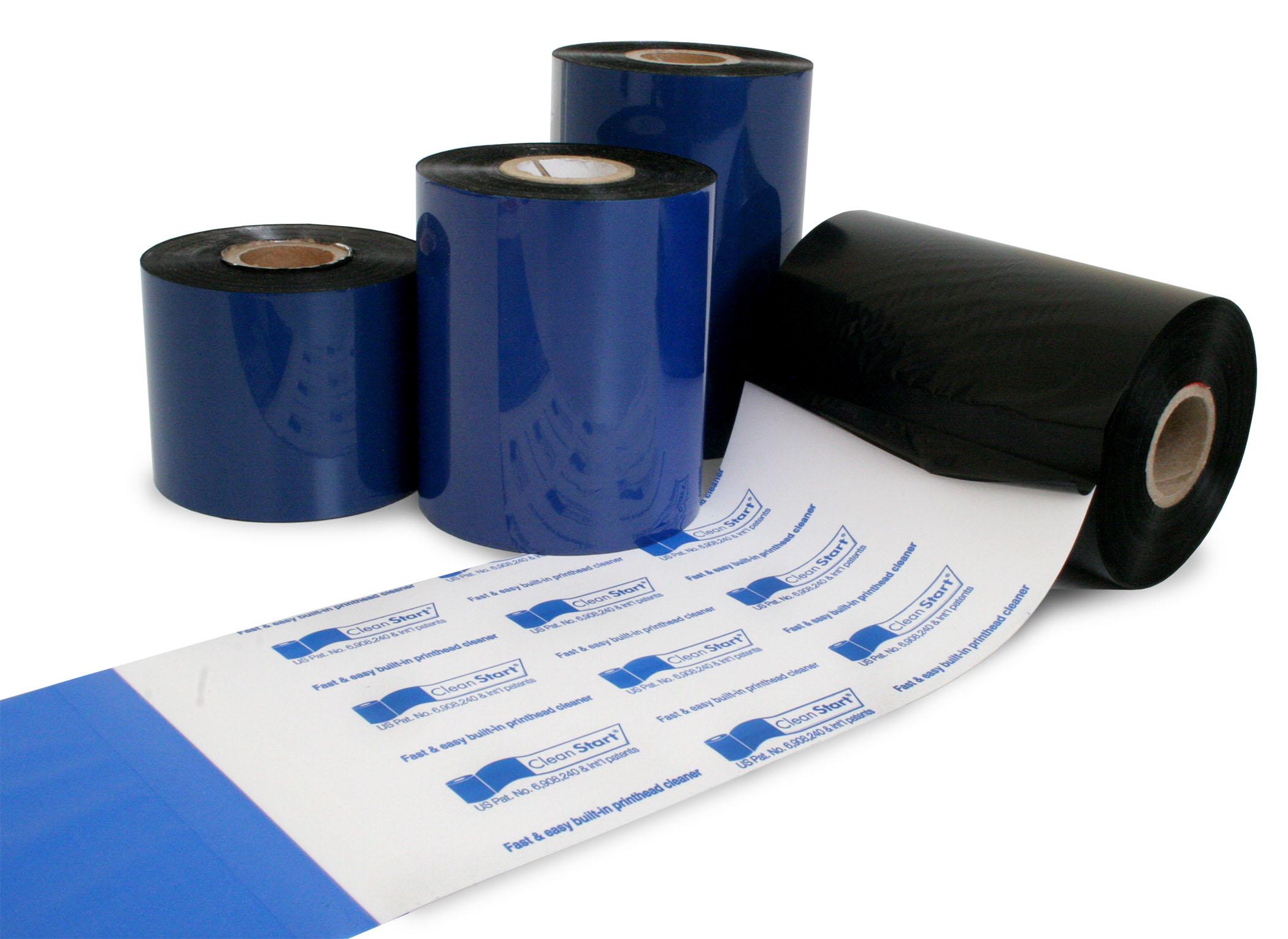 Go-Mark 100 Economy Wax Thermal Transfer Printer Ribbons for